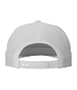 Cotton Twill Snapback Flat Bill hats-Embroidery