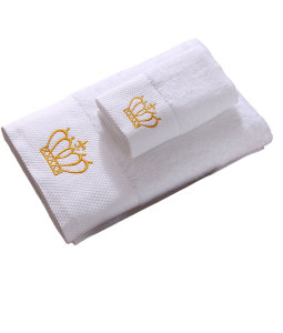 Custom Ultra-soft 180G Cotton Towel Of Embroidery