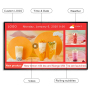 19 22 32 43 49 55 65 70 inch LCD electronic menu display digital signage