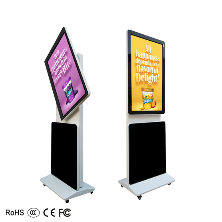 "43"" Rotatable Touch Screen Android Lcd Digital Signage"