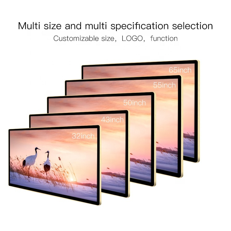 """43"""" Video Wall Mounted Android Advertising Screen Display Digital Signage and Displays"""