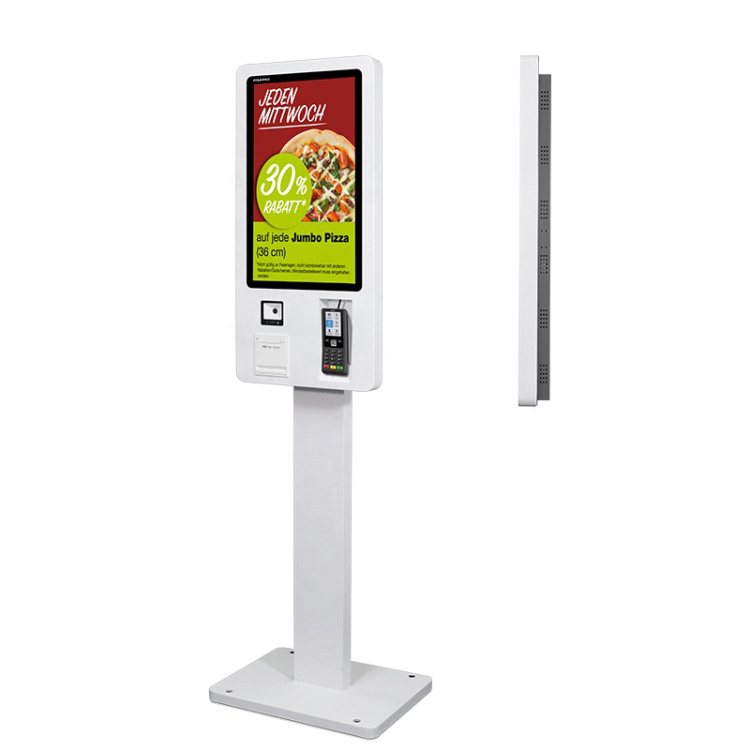 "24"" 32"" order kiosk touch screen POS system self pay machine self service payment order kiosk for McDonald's/KFC / restaurant"