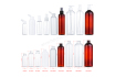 Fast shipment Easy handing disinfectant 300ml 500ml 750ml trigger spray bottle