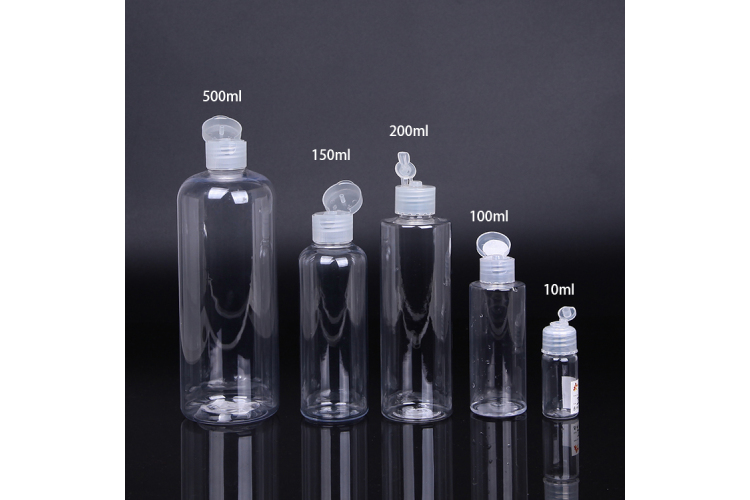 Faster Delivery 10ml 100ml 150ml 200ml Flip top cap  hand sanitizer gel bottle, hand wash bottle packaging good choice