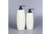 PE Plastic Shampoo Bottle, 500ml Cosmetic Luxury Shampoo Bottle