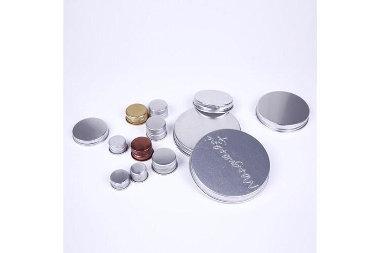 Aluminum Jar Caps,Sliver and Gold Color Aluminum Caps