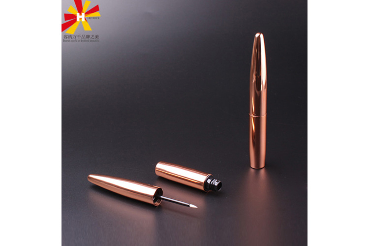 Bronze Aluminum surface eyeliner tube