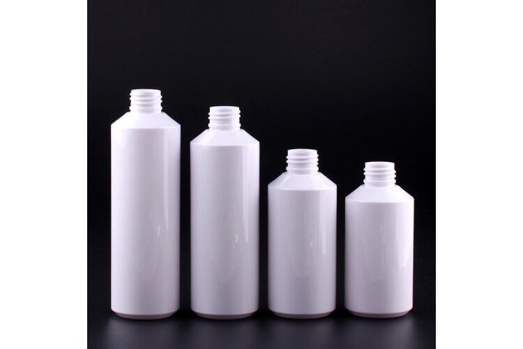 oblique shoulder PET bottle