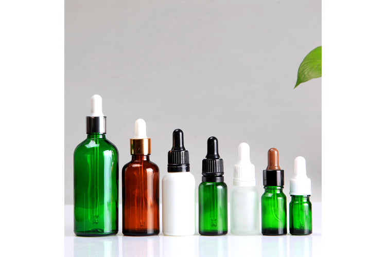 100ml Glass Face Care  oil Bottle for Cosmeitc Use