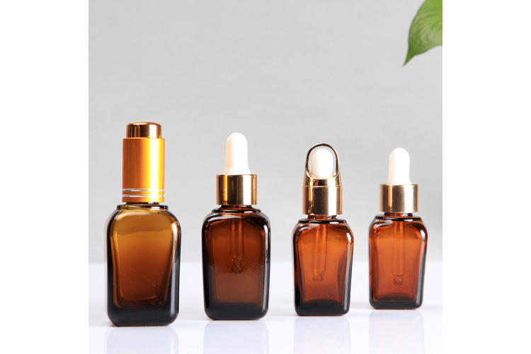 30ml Cosmetic Glass Bottle with Dropper Head