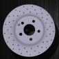 ANLUBAO brake disc MERCEDES-BENZ W204 C200 C300 W212 E200 E250