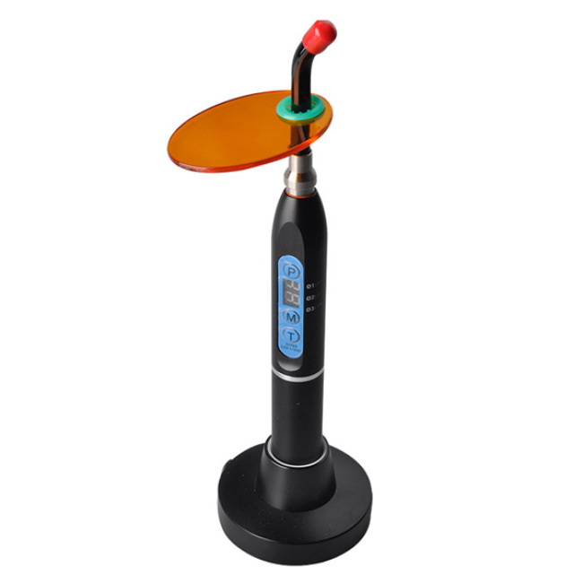 Colorful Aluminum Alloy Wireless Led Curing Light Dental