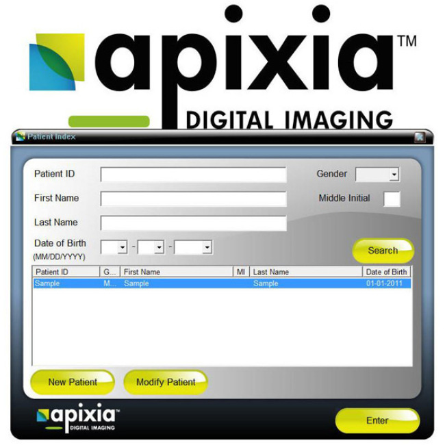 Original Apixia PSP Digital X-ray Dental 3D Scanner