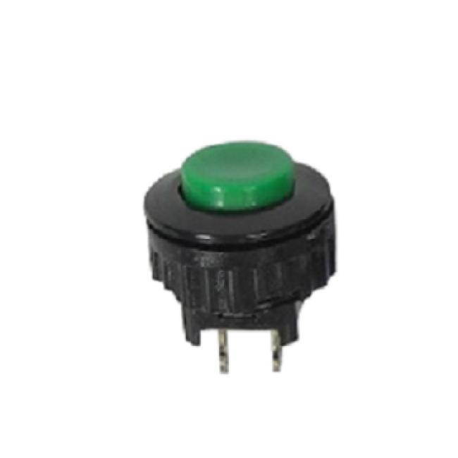 Hand piece button, green