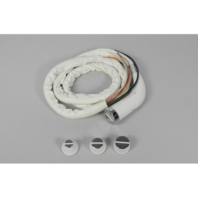 RF hand piece, water cooling, bipolar, 2 semicircle