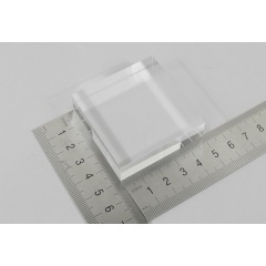 light guide, Quartz, rectangular, 50mm*15mm*50mm, without coating