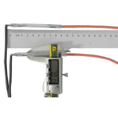 Xenon lamp - Ncrieo 7*45*90 with wires German quartz  cathode 90°