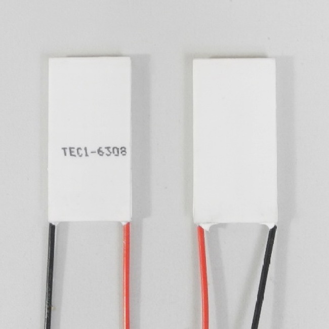Peltier module, TEC1-6308 40mm*20mm*3mm both wires on 20mm side