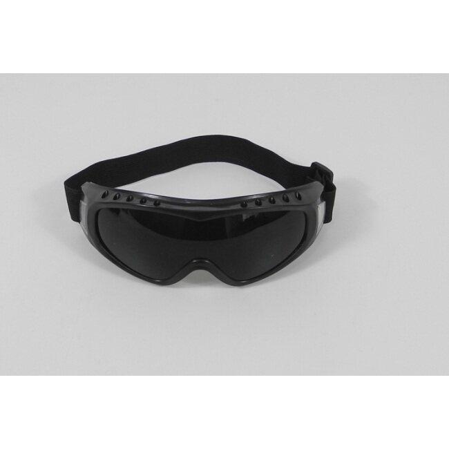operator's goggles, dark black