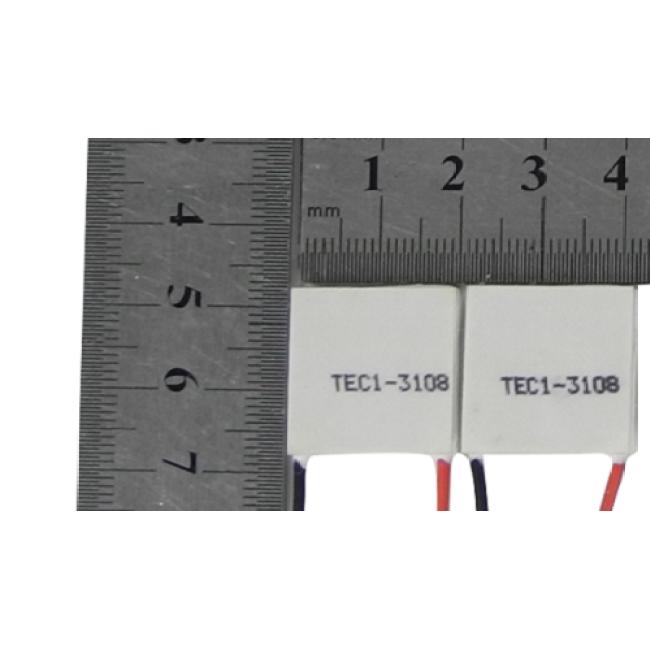 Peltier module, TEC1-3108 20mm*20mm*3.5mm