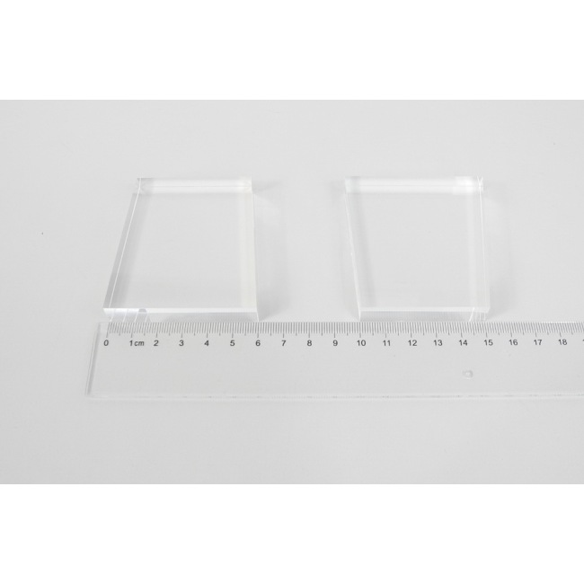 light guide, BK7, trapezium, 12mm*50mm*65mm*60mm, without coating
