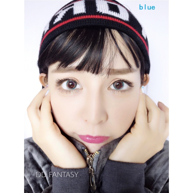 new arrival DD FANTAS OBSESSION blue  color contact lens contact lenses hot selling cosmetic soft lens