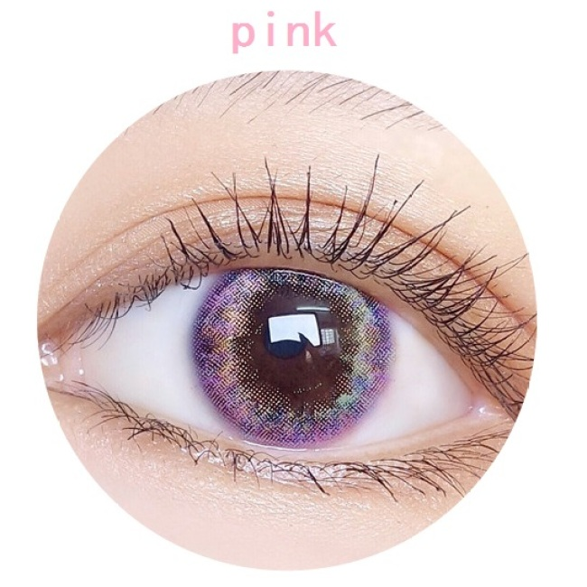 new arrival DD FANTAS OBSESSION pink  color contact lens contact lenses hot selling cosmetic soft lens