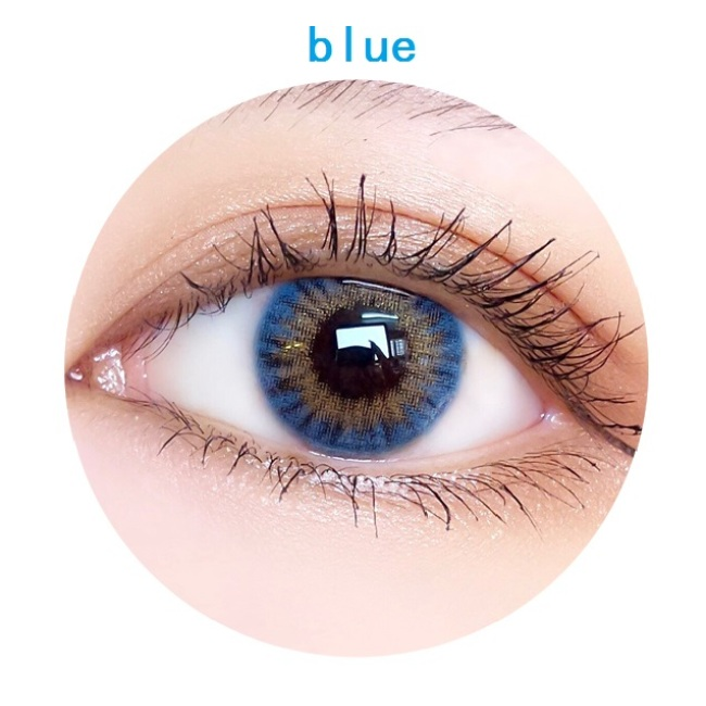 new arrival DD FANTAS Velvet blue  color contact lens contact lenses hot selling cosmetic soft lens