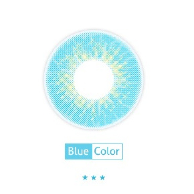 new arrival DorisCon babylon blue contact lens contact lenses hot selling cosmetic soft lens