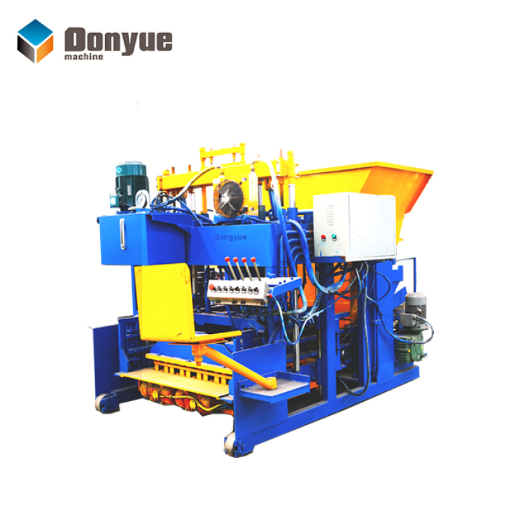 QTM10-15 mobile block making machine