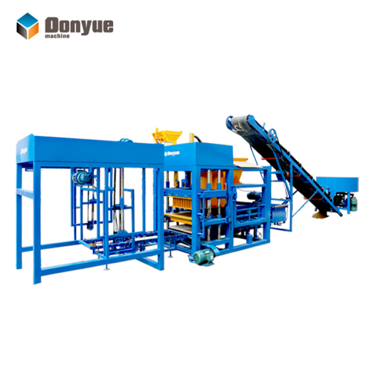 QT4-15 automatic brick machine