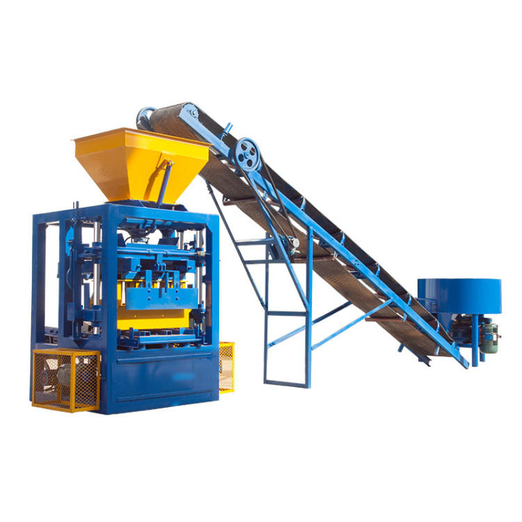 QT4-24 Manual brick making machine