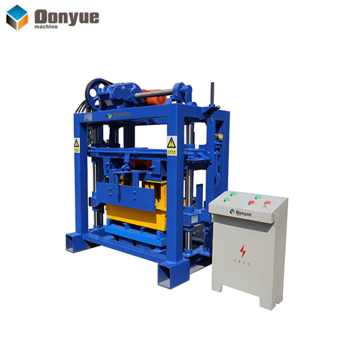 QT40-2 Manual brick machine