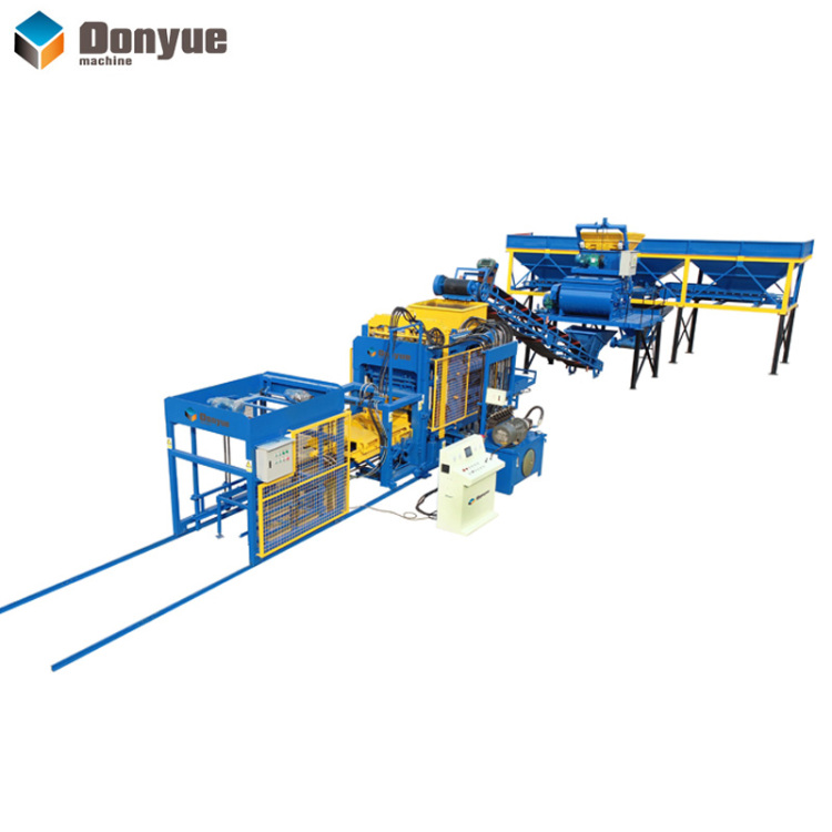 QT4A-15 automatic brick machine