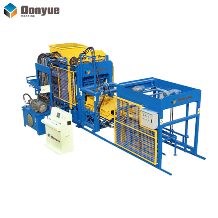 QT6A-15 automatic brick making machine