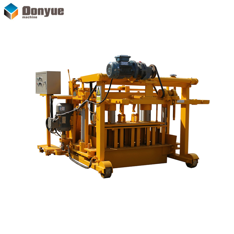 QT40-3A mobile block making machine