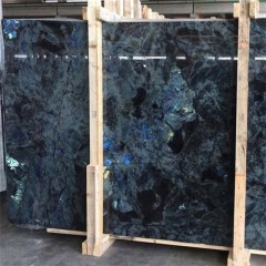 Labradorite Blue granite gang saw slabs