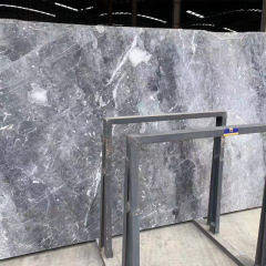 Brazil grey marble slabs 18mm thickness