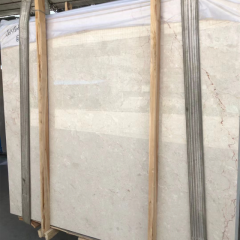 Light beige  marble slabs 15mm thickness