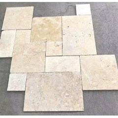 Travertine French Pattern Pavers