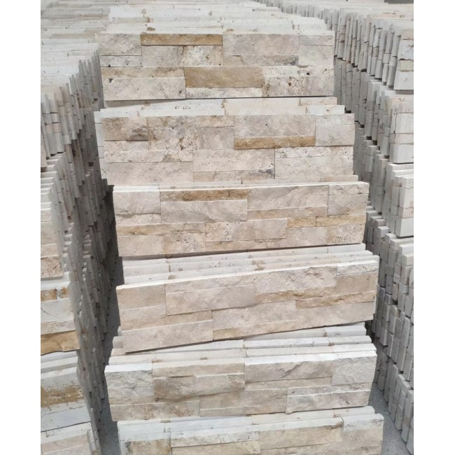 travertine cultured exterior wall stone