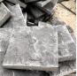 Black basalt stone outdoor  floor tiles