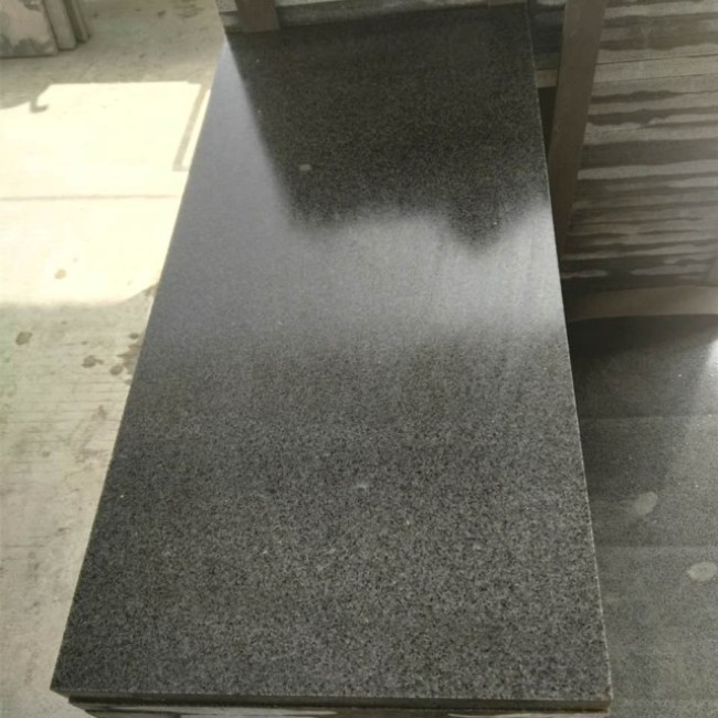 Honed G654 granite wall tiles for exterior wall paving