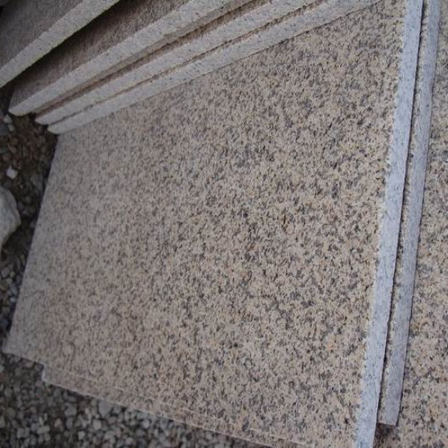 Flamed G682 granite tiles