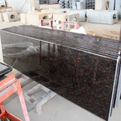 Tan brown granite counter tops