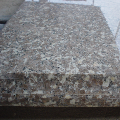 Golden brown granite kitchen  countertop