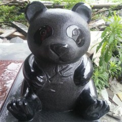 granite stone garden  animal sculptures