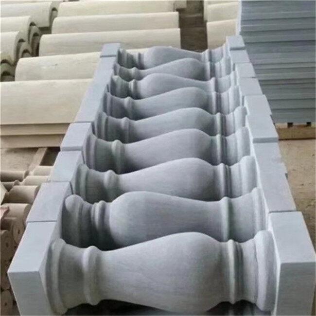 grey sandstone baluster
