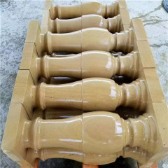 yellow sandstone baluster