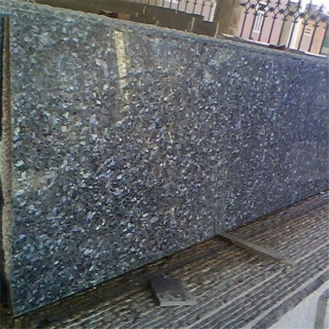 Blue Pearl granite big slabs blue granite random slabs
